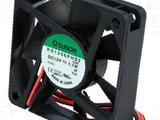 Вентилятор sunon KD1206PHS2, DC, 60X60X15 мм